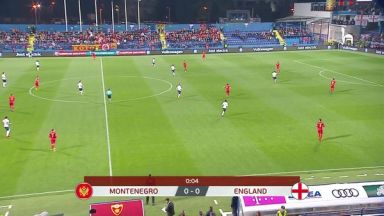 Full match: Montenegro vs England