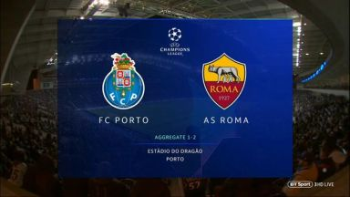 Full match: Porto vs Roma