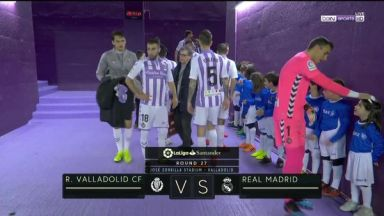 Full match: Real Valladolid vs Real Madrid