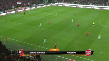 Full match: Rennes vs Arsenal