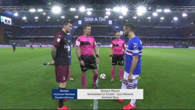 Full match: Sampdoria vs AC Milan