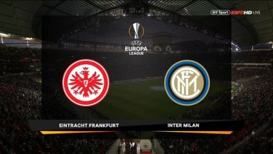 Full match: Eintracht Frankfurt vs Inter Milan