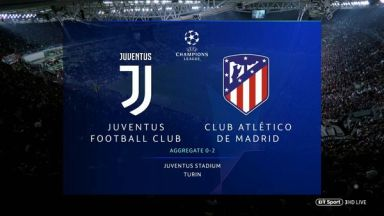 Full match: Juventus vs Atletico Madrid