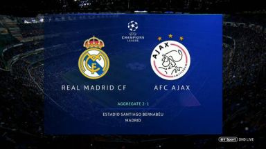 Full match: Real Madrid vs Ajax