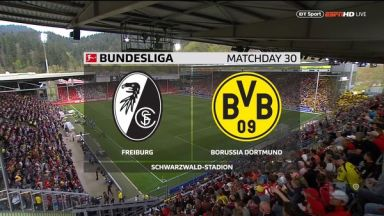 Full match: Freiburg vs Borussia Dortmund