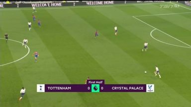 Full match: Tottenham Hotspur vs Crystal Palace