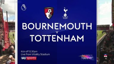 Full match: AFC Bournemouth vs Tottenham Hotspur