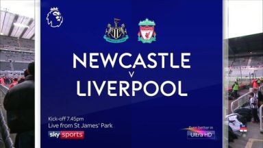 Full match: Newcastle United vs Liverpool