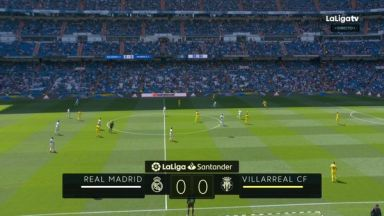 Full match: Real Madrid vs Villarreal