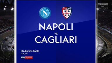 Full match: Napoli vs Cagliari
