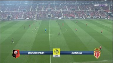 Full match: Rennes vs Monaco