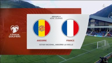 Full match: Andorra vs France