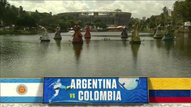 Full match: Argentina vs Colombia