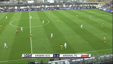 Full match: Angers SCO vs Arsenal
