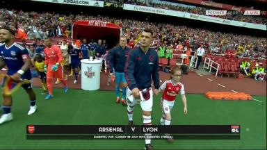 Full match: Arsenal vs Olympique Lyonnais