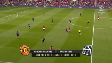 Full match: Kristiansund vs Manchester United