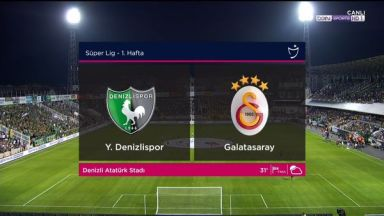 Full match: Denizlispor vs Galatasaray