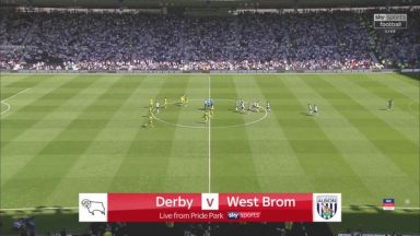 Full match: Derby County vs West Bromwich Albion