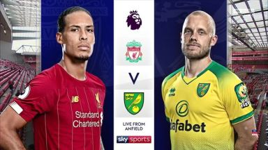 Full match: Liverpool vs Norwich City