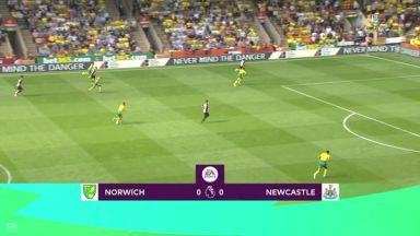 Full match: Norwich City vs Newcastle United