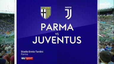 Full match: Parma vs Juventus