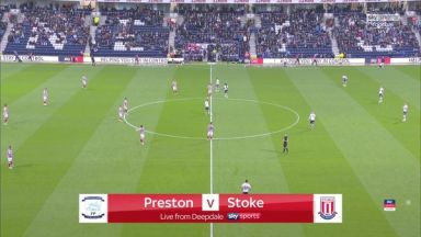 Full match: Preston North End vs Stoke City