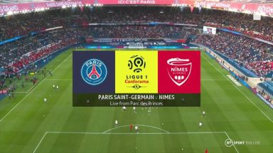 Full match: PSG vs Nimes