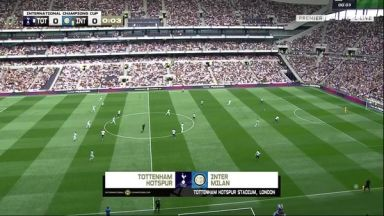Full match: Tottenham Hotspur vs Inter Milan