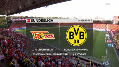 Full match: Union Berlin vs Borussia Dortmund