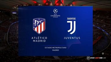 Full match: Atletico Madrid vs Juventus