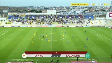 Full match: Cyprus vs Kazakhstan