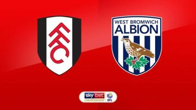 Full match: Fulham vs West Bromwich Albion