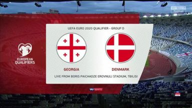 Full match: Georgia vs Denmark