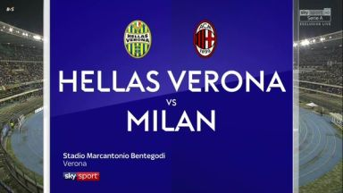 Full match: Hellas Verona vs AC Milan