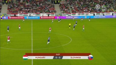Full match: Hungary vs Slovakia
