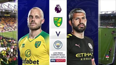 Full match: Norwich City vs Manchester City