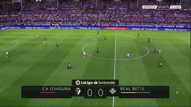 Full match: Osasuna vs Real Betis