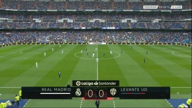 Full match: Real Madrid vs Levante
