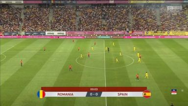 Full match: Romania vs Spain