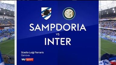 Full match: Sampdoria vs Inter Milan