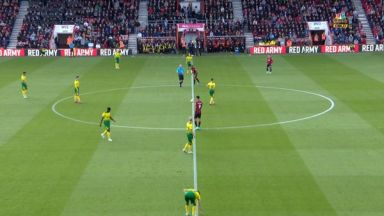 Full match: AFC Bournemouth vs Norwich City