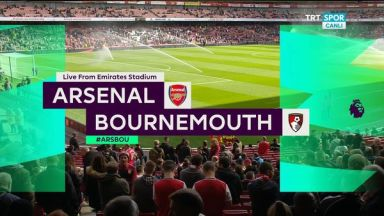 Full match: Arsenal vs AFC Bournemouth