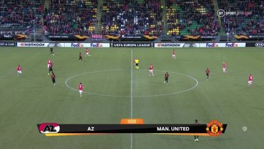 Full match: AZ Alkmaar vs Manchester United