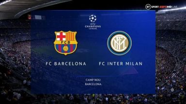 Full match: Barcelona vs Inter Milan