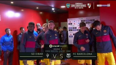 Full match: Eibar vs Barcelona
