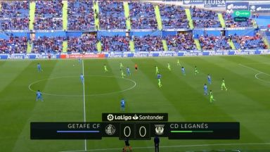 Full match: Getafe vs Leganes