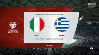 Full match: Italy vs Greece