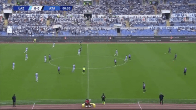 Full match: Lazio vs Atalanta