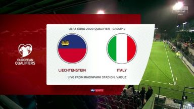 Full match: Liechtenstein vs Italy