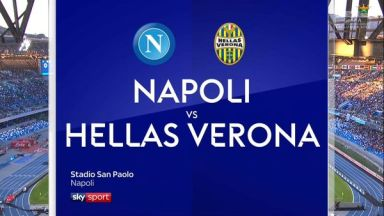Full match: Napoli vs Hellas Verona